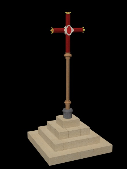 Ename market cross 1290